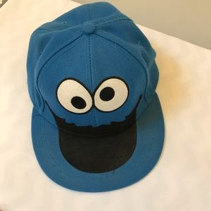 Cookie Monster Hat,  L/XL